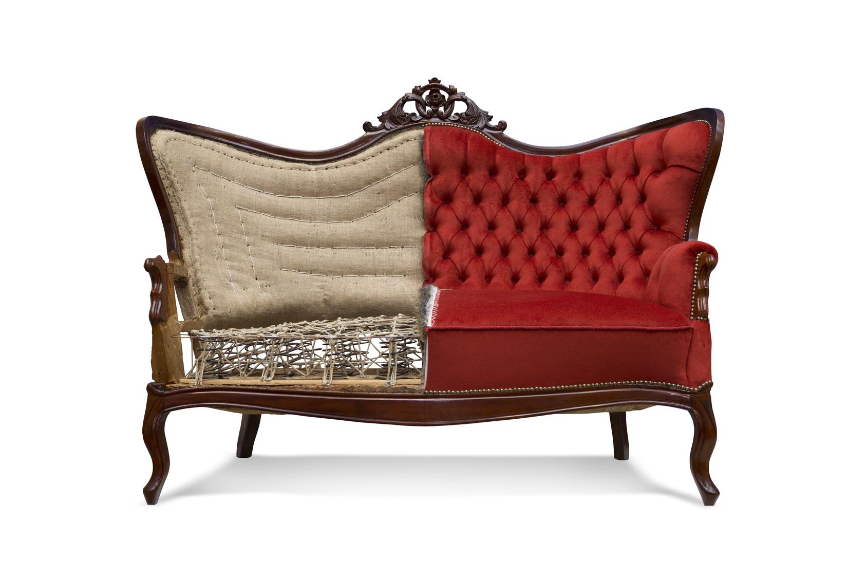 zum wegwerfen viel zu schade lassen sie doch neu beziehen. Black Bedroom Furniture Sets. Home Design Ideas